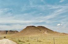 『内蒙古』锡林郭勒盟大草原上的火山