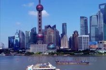 美丽的上海外滩。
