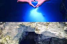 神秘美的蓝洞,世界第二的洞穴潜水体验!