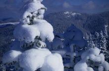 厄尔加兹山上的雪