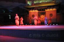 在少林寺看的一场武僧表演