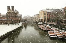 雪中的剑桥