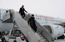 多伦多机场大雪