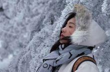 我在三清山下雪的日子里等了你一千年
