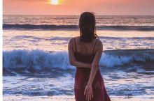 库塔海滩 寻找最美落日时光