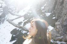 北疆乌鲁木齐天山天池温柔了这个初冬