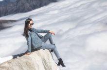 云端漫步-达古冰川旅拍