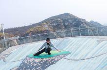来高空玻璃桥锻炼锻炼胆量!