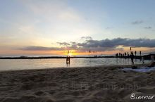 在夏威夷拍到的落日延时