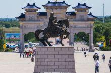 蒙古人的总神邸 鄂尔多斯上的成吉思汗陵