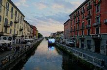 意大利米兰一一运河区