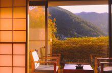 遇见飞驒山脉清晨的美景