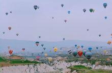 浪漫土耳其卡帕多奇亚热气球