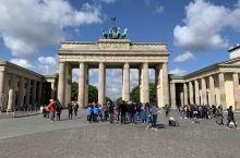 柏林的标志勃兰登堡门