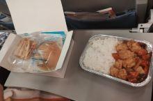 中国国航的餐食