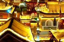 五台山广化寺夜景