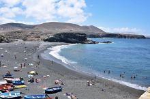 火山石黑沙滩