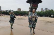 小雁塔南广场初具规模 雕塑绘声绘色 栩栩如生