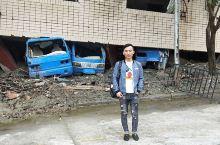 我在北川地震遗址
