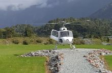 新西兰南岛,直升机探险