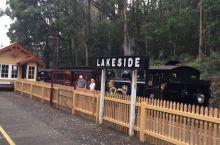 澳大利亚墨尔本的原始蒸汽火车