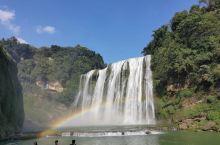 黄果树瀑布 \t 景区很大,建议如果体力一般可考虑只去大瀑布观看,毕竟其它小景震撼性不大。里面很多卖