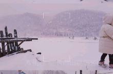 东北乡下冬天