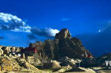 古格王朝遗址的夕阳之美让人震撼,让人进入梦幻世界, #网红打卡地