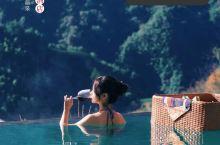 打卡网红悬崖温泉♨️ 郴州莽山温泉酒店