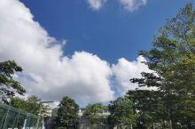 珠海蓝天白云很美,就是太热啦,最好还是十月或者三四月来