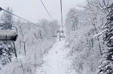长白山的雪