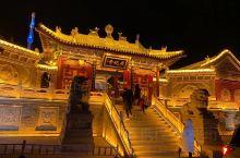 到广化寺上香,一定要晚上去,超美
