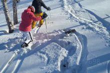 张家口崇礼的滑雪场