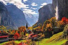 全球独一无二的瀑布小镇,简直是童话世界