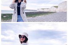 【🇬🇧英国夏日度假风🌊布莱顿海滩七姐妹绝美白崖💃小众玩法攻略】 洁白无瑕的白崖是英国南部独有的一道风