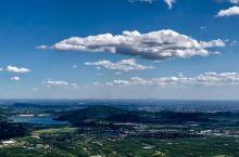 俯瞰十三陵景区
