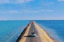 今日分享:青海[爱心]西台吉乃尔湖 穿越315国道,遇见最美双色湖