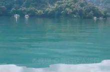 台湾日月潭一览,这么多水让我想起《一仆二主》中的台词,大家都是水,你装什么纯净水...
