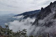 冬日的莽山五指峰