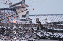 冬季的宏村,更是美出了徽州该有的样子