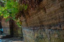 涠洲岛上的石墙