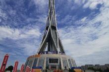 中原福塔高388米,登上中原福塔,可以俯瞰郑州全貌