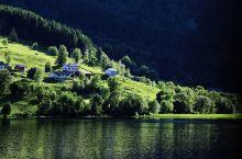 田园诗般的挪威哈当厄尔峡湾
