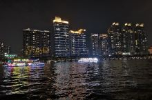 珠江夜景,蛮漂亮!