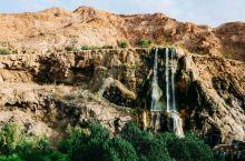 约旦|沙漠绿洲温泉,外国人不远万里都来泡