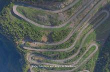 #十八弯的盘山公路长啥样#航拍巴山大峡谷