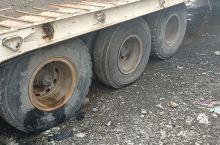 轮胎没气了