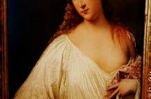 馆内第28展室有一幅意大利文艺复兴后期风靡一时的威尼斯画派代表人物提香(1490一1576)作品''