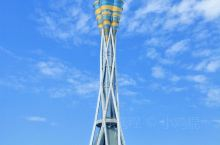 """中原福塔高度388米,是世界上最高的全钢结构塔,是河南省""""十一五""""规划的重点文化建设项目,是河南省政"""