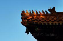 雍和宫屋檐上的神兽